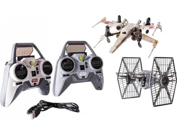 Air Hogs X-wing and TIE Fighter Drones