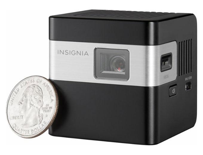 50 off insignia ns pr116 dlp pico portable projector for Dlp pico projector price