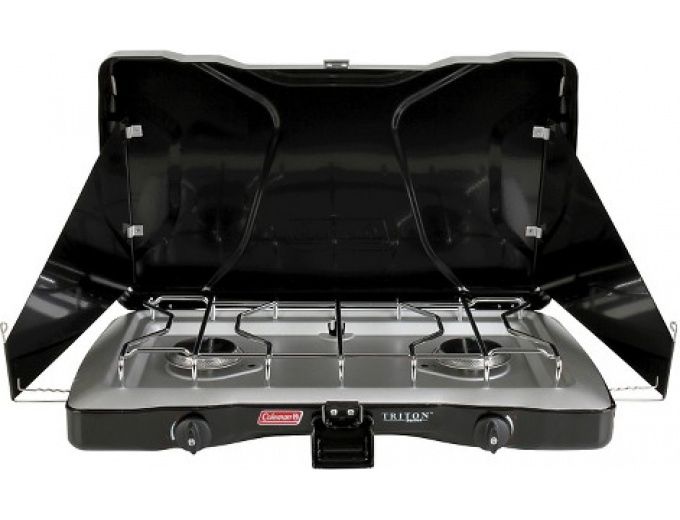 Coleman 2 Burner Propane Stove ML, Black