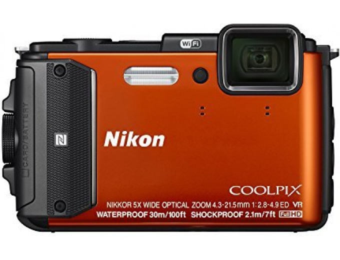 Nikon Coolpix AW130 16MP Waterproof Camera