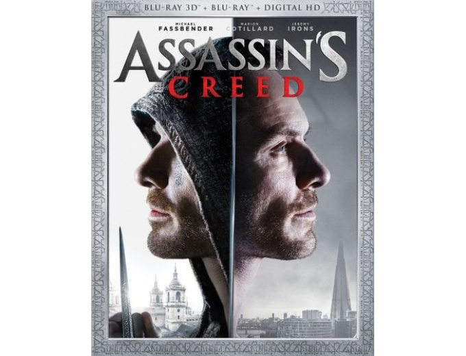 Assassin's Creed Blu-ray/Blu-ray 3D