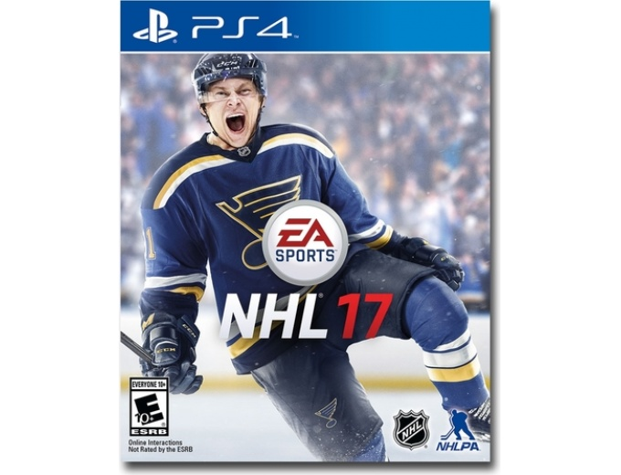 NHL 17 PlayStation 4