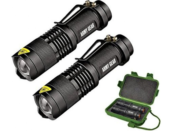 Special Forces Tactical Flashlight (2 Pk)
