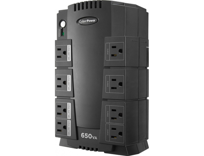 CyberPower 650VA Battery Back-Up System