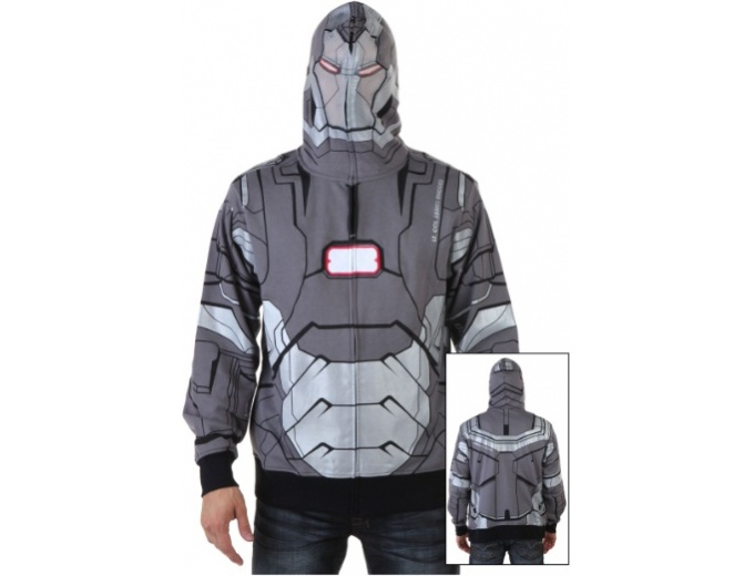 War Machine I Am Marvel Hooded Sweatshirt