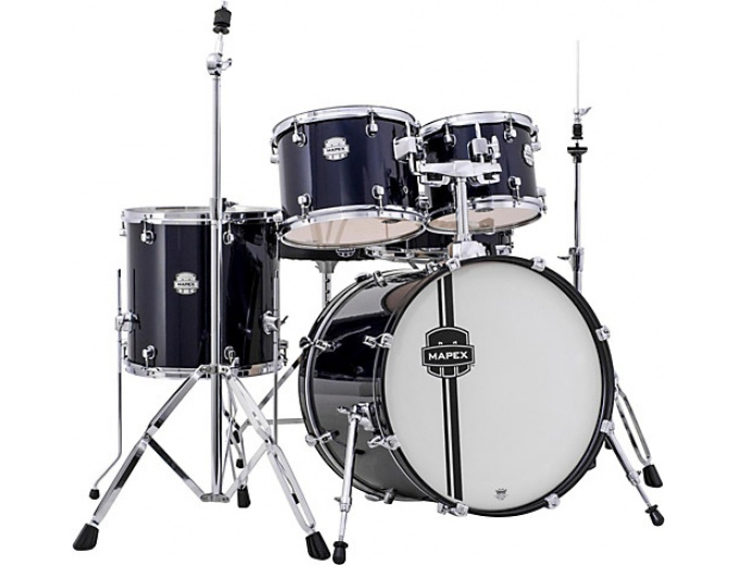 Mapex Voyager Jazz Drum Set in Royal Blue