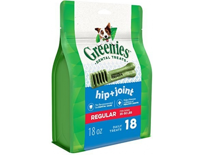 GREENIES Hip and Joint Care Dental Dog Treats