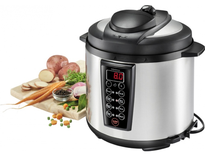 Insignia Multi-function 6-Quart Pressure Cooker