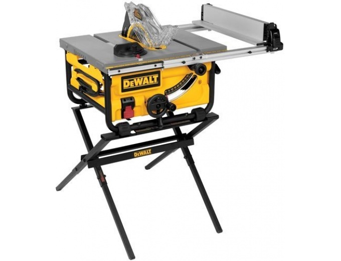 60 off dewalt dwe7480xa 10 compact job site table saw for 10 inch table saw comparison