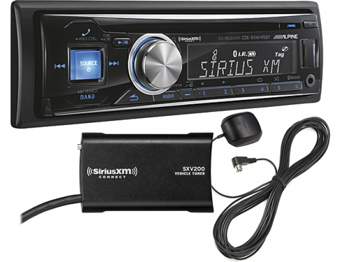 Alpine CD Satellite Bluetooth In-Dash Deck