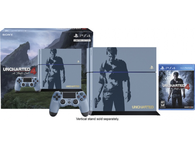 Sony PS4 Console Uncharted 4 Bundle