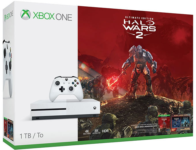 Microsoft Xbox One S 1TB Halo Wars 2 Bundle