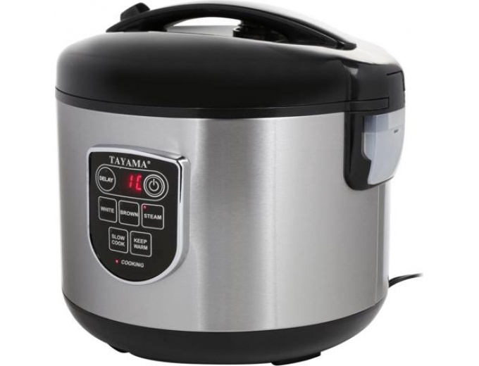 Tayama Rice Cooker and Food Steamer
