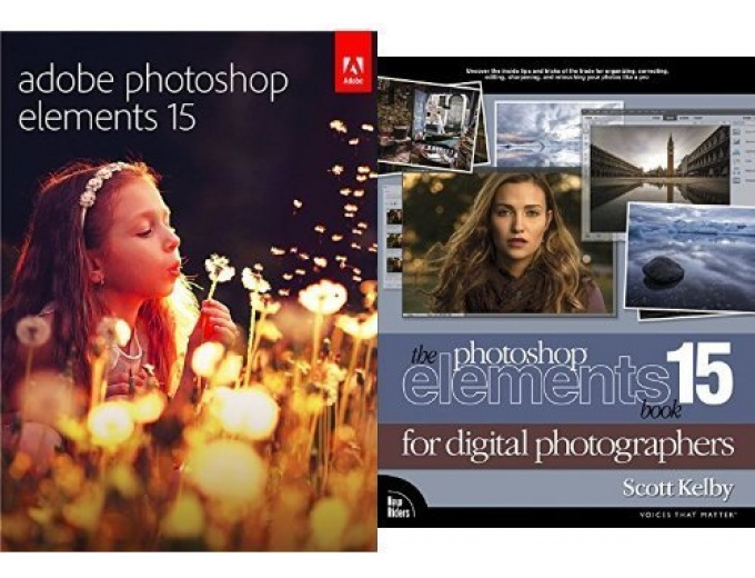 Adobe Photoshop Elements 15 + Book