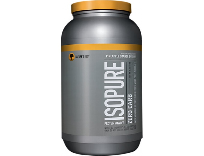 Natures Best Isopure Zero Carb Protein