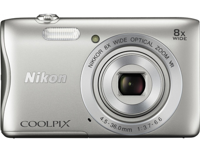 Nikon Coolpix S3700 20.1MP Digital Camera