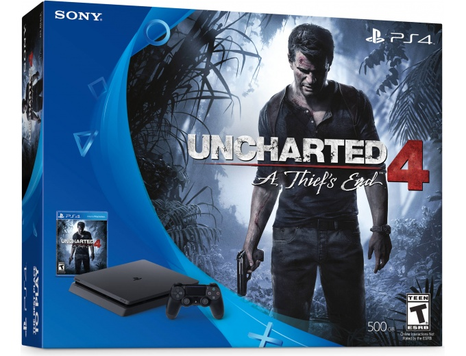 Uncharted 4 PlayStation 4 Bundle