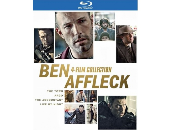 Ben Affleck: 4-Film Collection (Blu-ray)