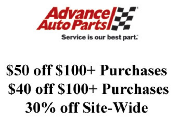 $100+ Purchases at Advance Auto Parts