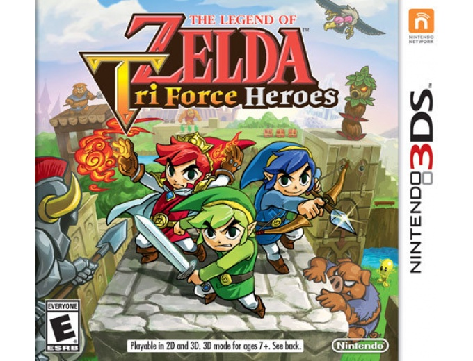 Legend of Zelda: Triforce Heroes Nintendo 3DS