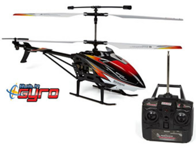 Gyro Metal Eclipse 3.5CH RC Helicopter