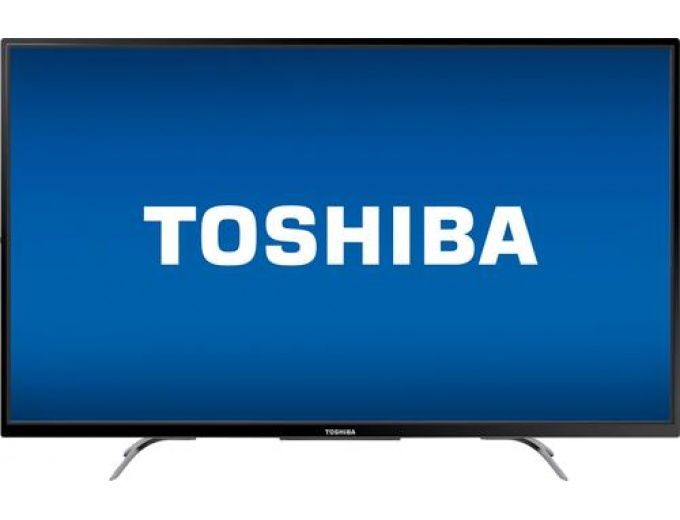 "Toshiba 50"" LED Chromecast 4K Ultra HD TV"