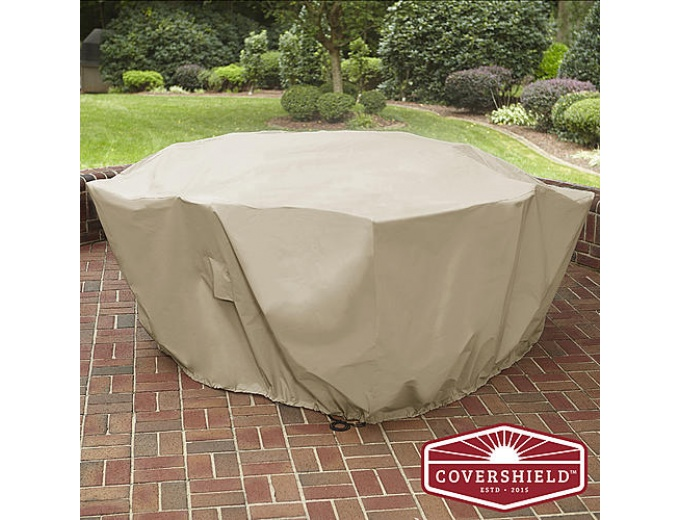 CoverShield 5PC Square Dining Cover