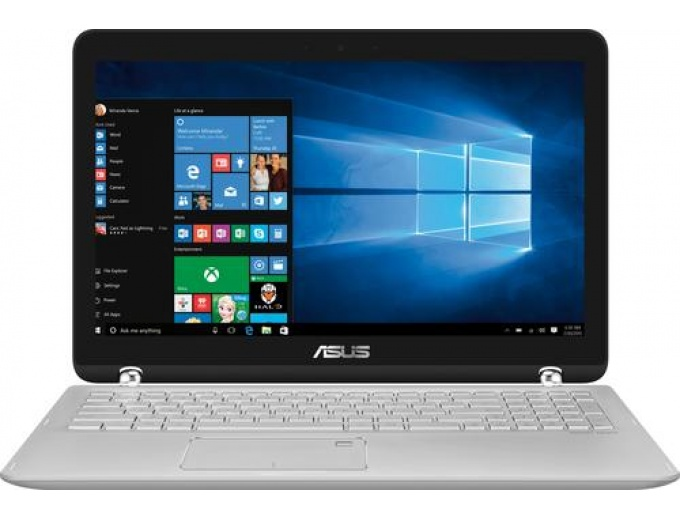 "Asus Q504UA 2-in-1 15.6"" Touch-Screen Laptop"
