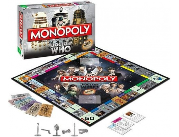 Monopoly: Dr Who Edition Collectors Edition