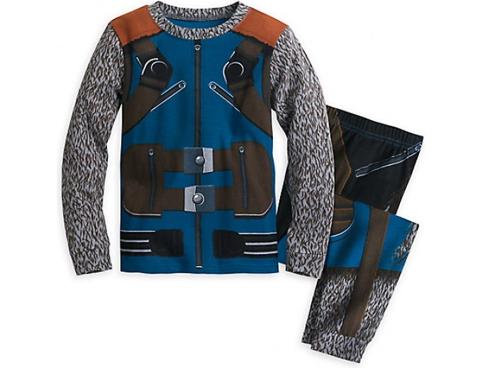 Rocket Raccoon Costume PJs for Boys