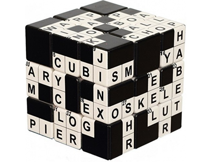 V-Cube Crossword 3 Cube Toy