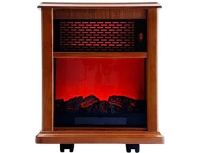ACW0040WT Portable Infrared Fireplace Heater