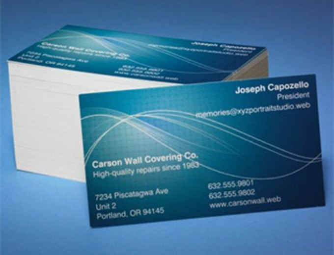 250 Custom Full Color Business Cards