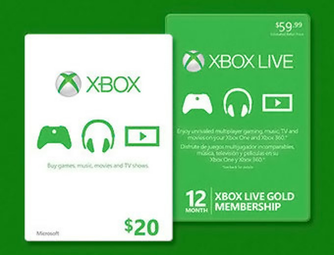 Xbox live coupons discounts