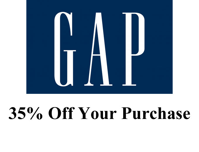 Gap Friends Event - 35% off Your Purchase