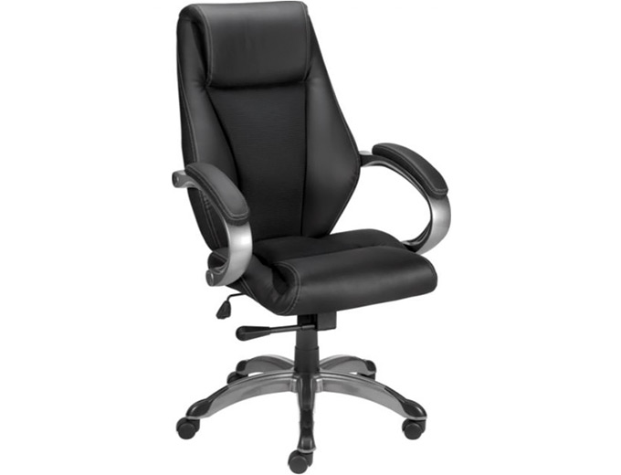 Staples Ackerley Leather Managers Chair