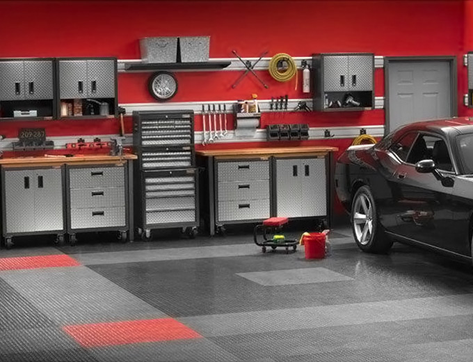 30-45% off Gladiator Garage Storage Cabinets u0026 Workbenches