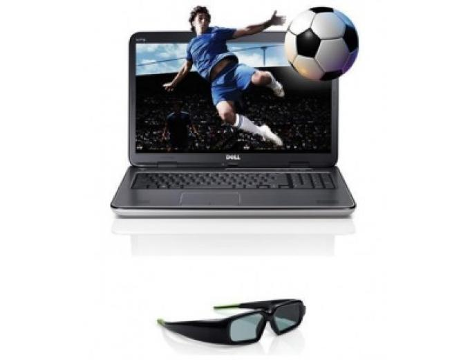 XPS 17, Customizable, 3D, Core i7, 750GB HDD, Blu-ray