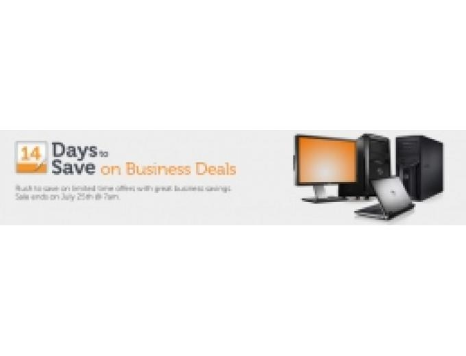 14 Day Dell Business Sale on all Business Items