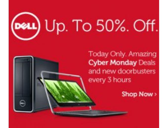 Dell Cyber Monday Sale, Up to 50% Off