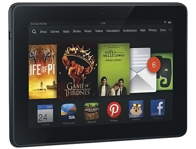 "Amazon Kindle Fire HDX 7"" Tablet 32GB"