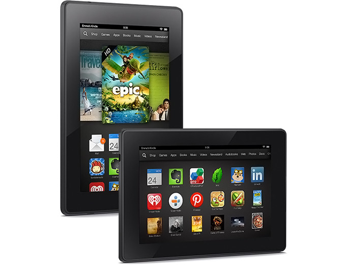 "Amazon Kindle Fire HD 7"" Tablet 8GB"