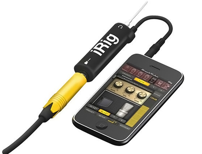 IK Multimedia iRig and AmpliTube for iPhone