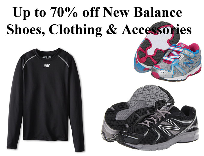 New Balance Shoes, Clothing & Accessories