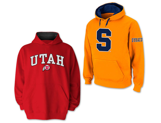 Mix and Match College Apparel Hoodies