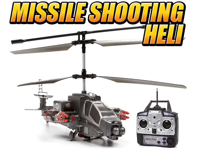Missile Shooting Storm RC Helicopter