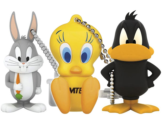 EMTEC Looney Tunes 4GB USB Flash Drives