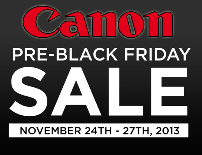 Canon Pre-Black Friday Sale