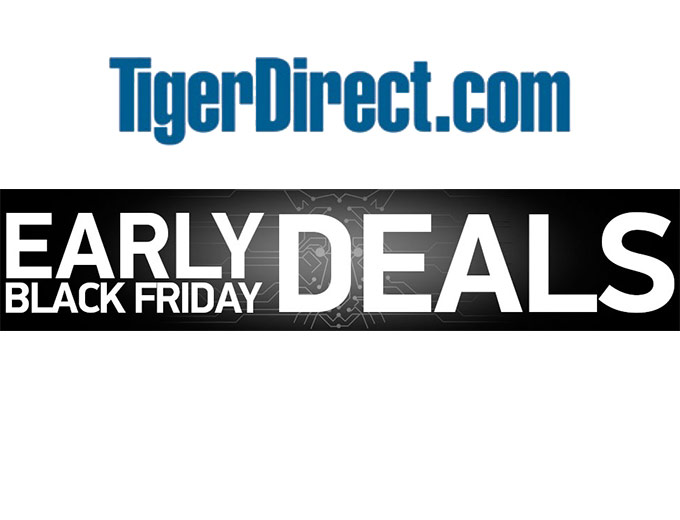 Tiger Direct Early Black Friday Deals
