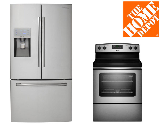 Up to 35% off Major Appliances at Home Depot
